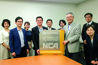 30 years with Nippon Cargo Airlines (NCA)