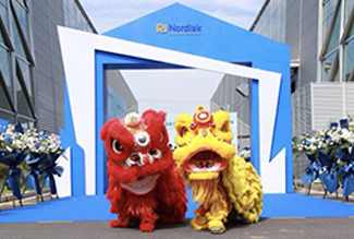 Official opening ceremony for new factory in Kunshan, China